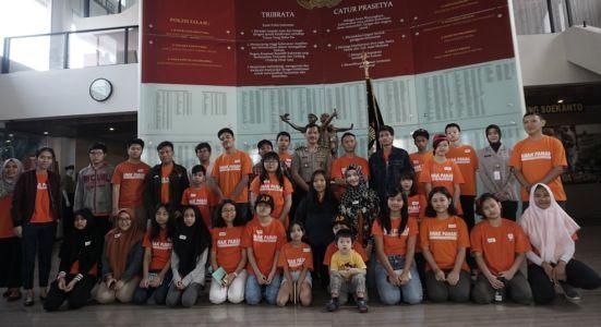 Photo Bersama Pimpinan  Museum POLRI